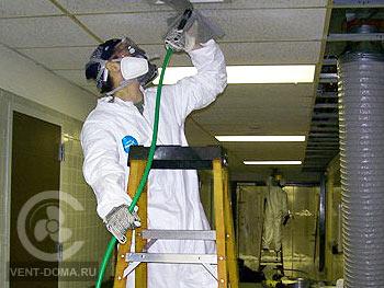 Ремонт систем вентиляции и кондиционирования в Москве и области