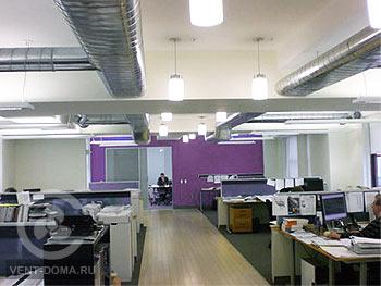 Вентиляция офиса в Москве